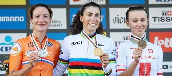 Elisa Balsamo oro mondiali ciclismo