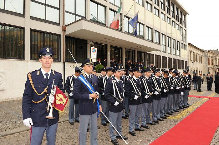 Le foto della visita alla questura di Padova del Capo ...
