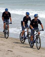 Mare Controlli Anche In Bicicletta Polizia Di Stato