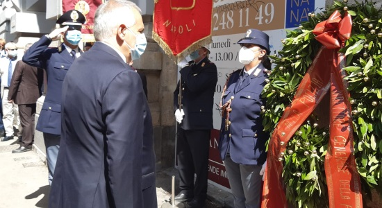 Capo della Polizia a Napoli