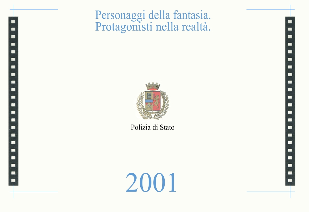 Calendario 12 Mesi.I 12 Mesi Del Calendario 2001 Polizia Di Stato
