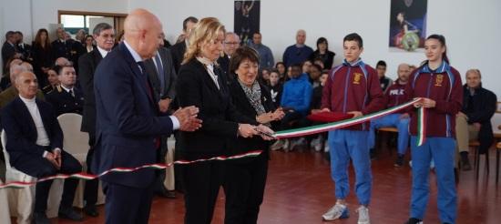 Inaugurazione settore giovanile Fiamme Oro Pescara