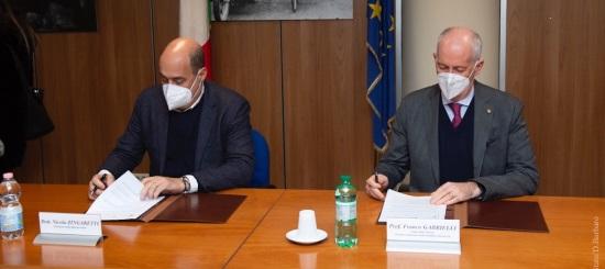 Capo della Polizia firma il Protocollo con la Regione Lazio