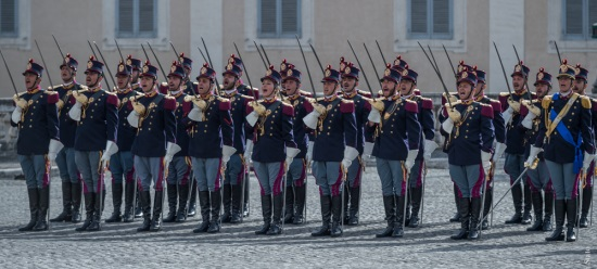 Reparto in uniforme storica
