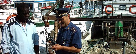 La Polizia di frontiera