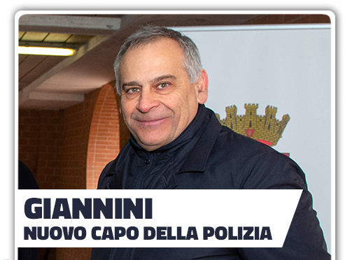 Giannini, nuovo capo della Polizia di Stato