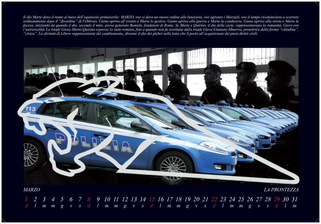 Il Calendario 2015 Polizia Di Stato
