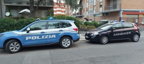 operazione congiunta con carabinieri