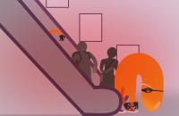 icona il bloccatore seriale di scale mobili