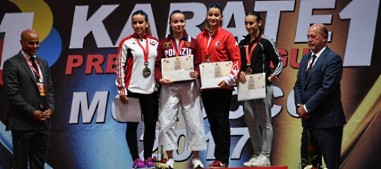 Nella Premier league di karate brilla l'oro di Viviana Bottaro