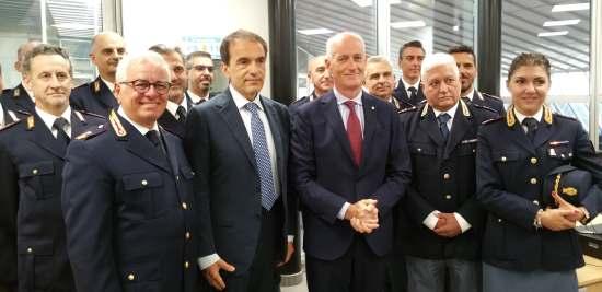 Inaugurazione posto polizia ferroviaria Milano Rogoredo