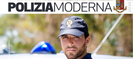 cover polizia moderna agosto settembre