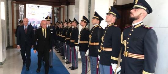 Roma aperto l anno accademico della scuola superiore di for Polizia di stato roma permesso di soggiorno
