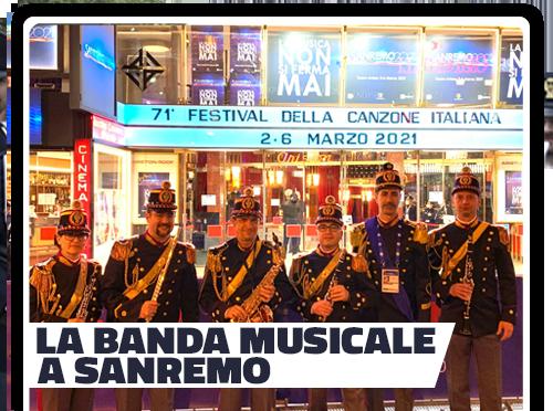 La Banda della Polizia a Sanremo