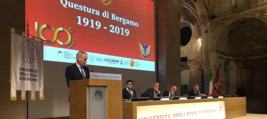 100 anni della questura di Bergamo