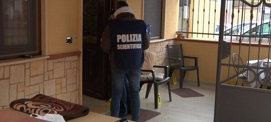 sopralluogo di polizia scientifica