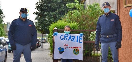 A Mantova il compleanno di Luca