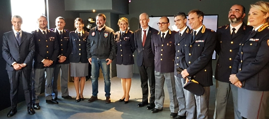 Teatro virtuale Polizia scientifica