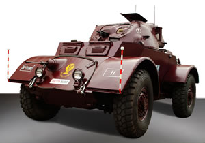 Autoblindo T71 E1 Staghound