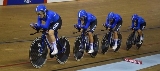 Ciclismo su pista, squadra di inseguimento femminile