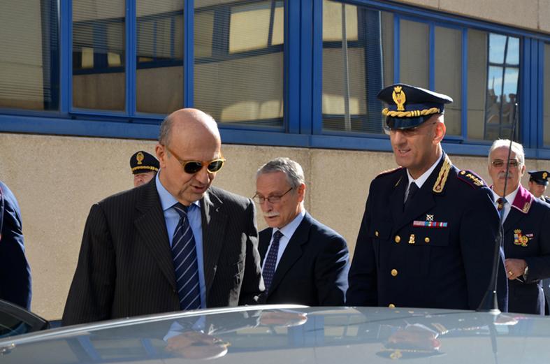Il capo della Polizia a Bari