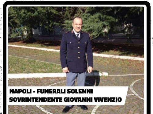 Funerali solenni Sovrintendente Capo Giovanni Vivenzio