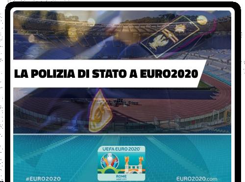 Polizia di Stato a EURO2020