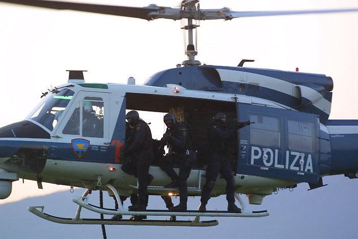 Elicottero Polizia : I velivoli della polizia di stato